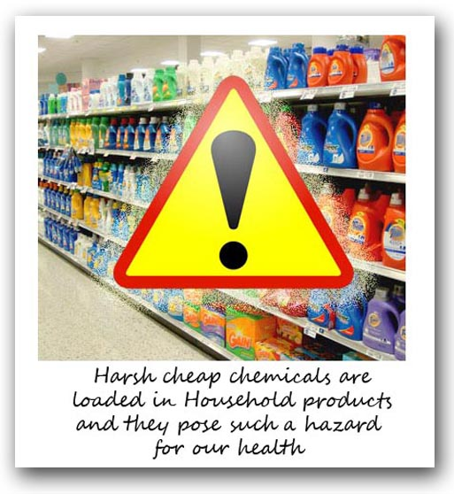how to get rid of chemicals in your home
